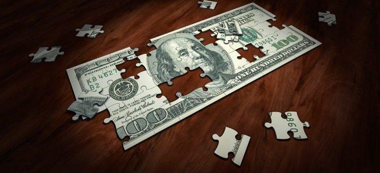 a dollar bill puzzle
