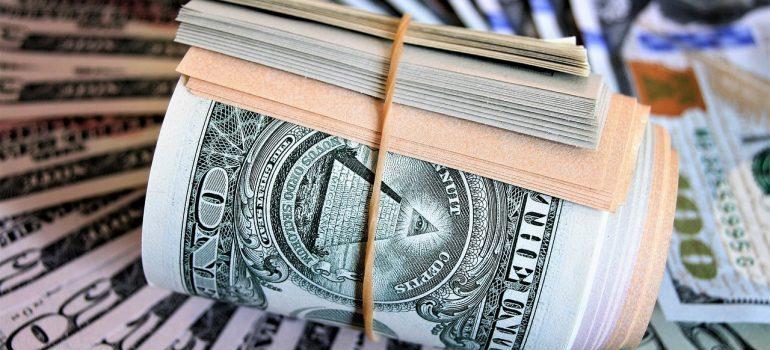 A bundle of cash.