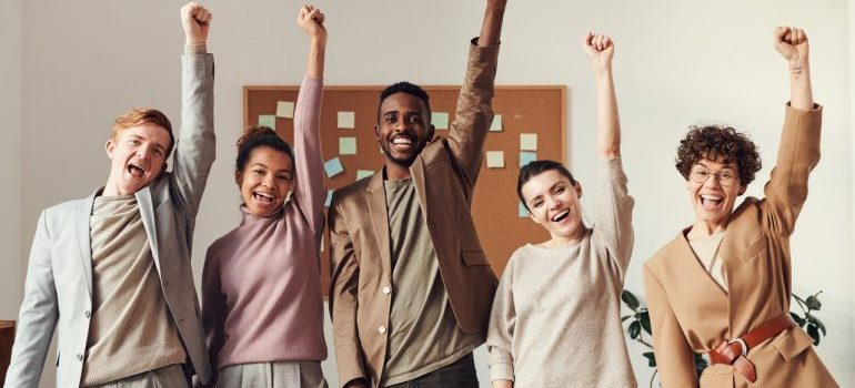 Embracing inclusive fashion with a modern PLM - a team of designers in the office